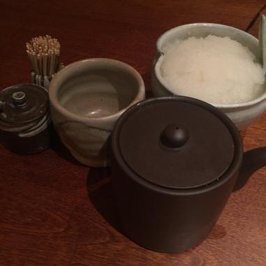 Mikawa Zezankyo Tempura Condiments