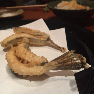 Flying Fish Tempura