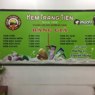 Kem Tràng Tiền, Hanoi locals' favourite ice cream shop!