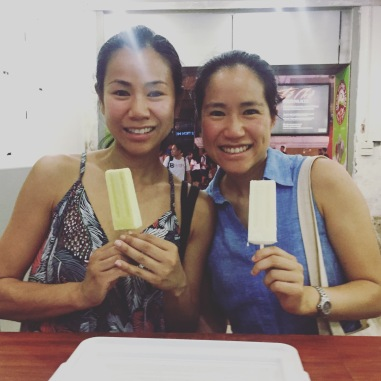 Beating the heat with Kem Tràng Tiền ice cream!