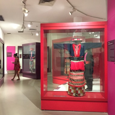 Clothing Exhibit at The Women's Museum