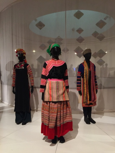 Indigenous Clothing Exhibit at The Women's Museum