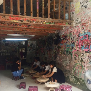 Pottery workshops at Bat Trang Ceramic Village