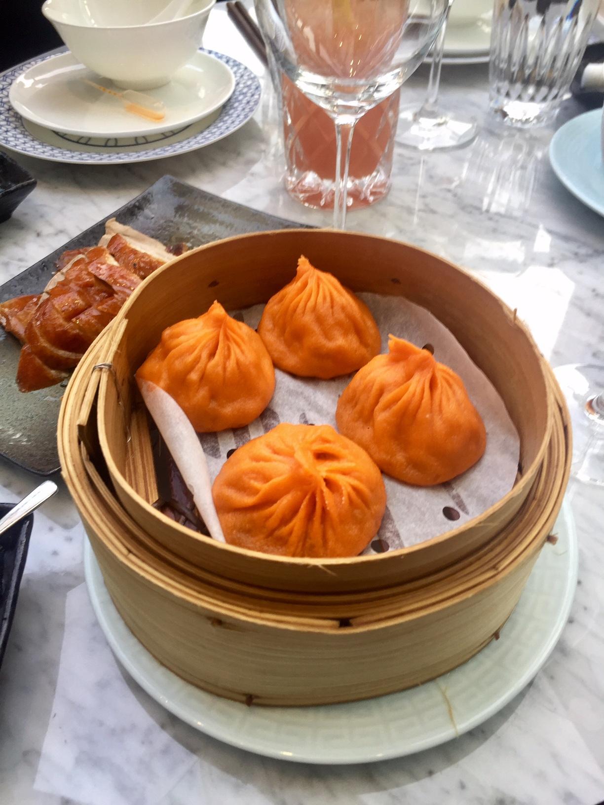 Mott 32's famous Xiao Long Bao