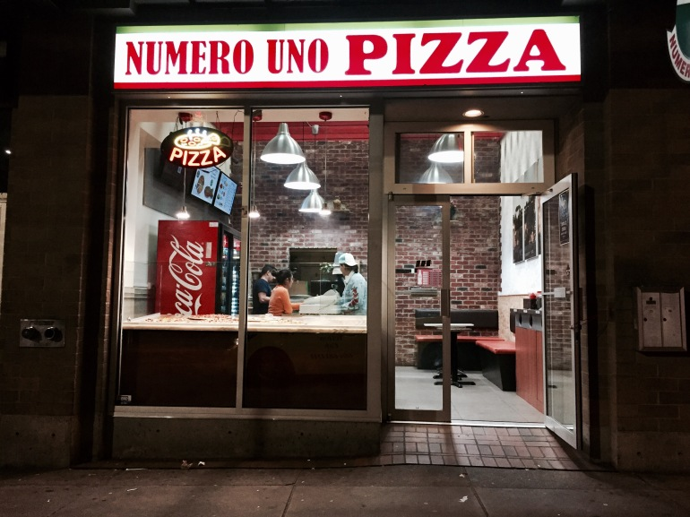 Numero Uno Pizza Midnight Run