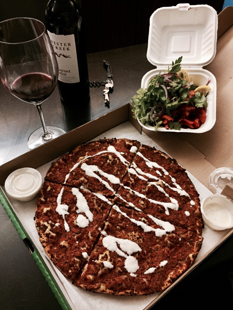 Numero Uno's Secret Pizza: Lahm Bi Ajeen