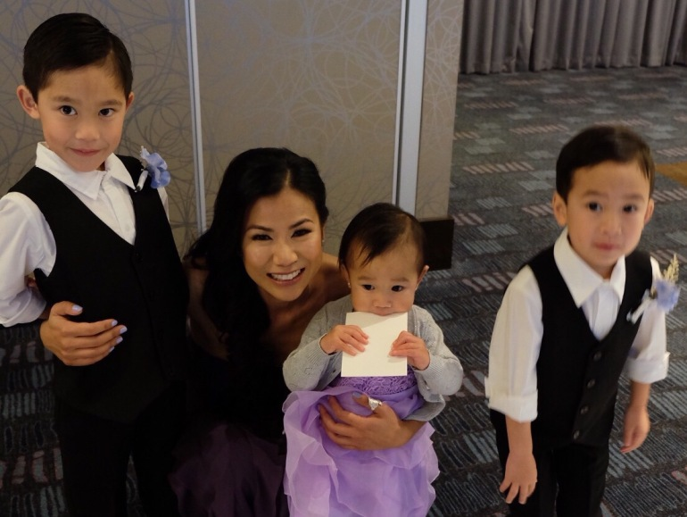 My favourite 3 Munchkins and I