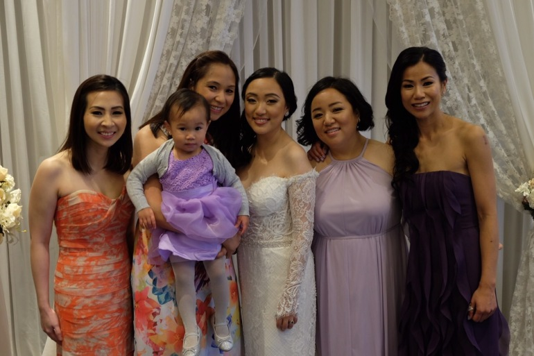 The Girls at Yen's Wedding