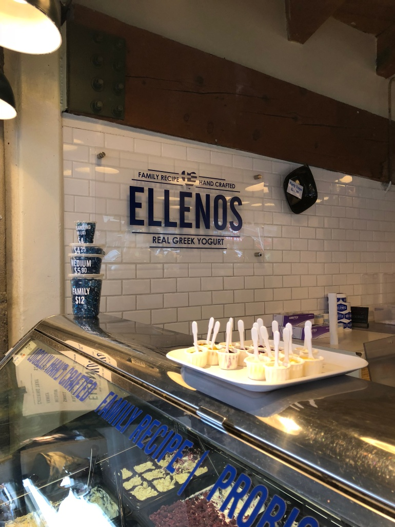 Ellenos Greek Yogurt at Pike Place Market